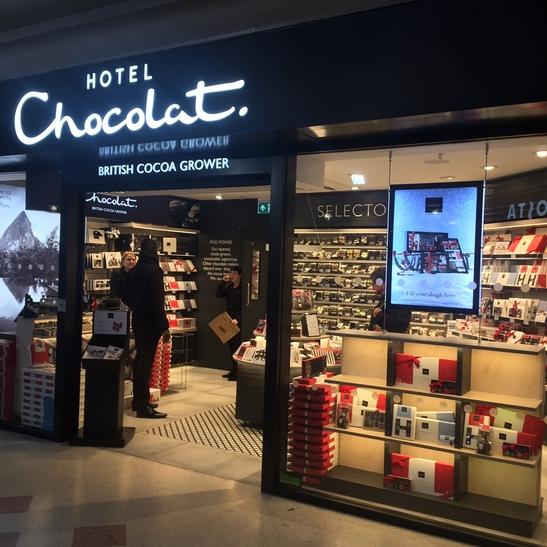 Hotel chocolat shop stop clapham junction station hotel chocolat negle Gallery